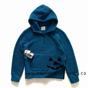 NWT Todd Snyder x Champion Deep Pile Sherpa Hoodie